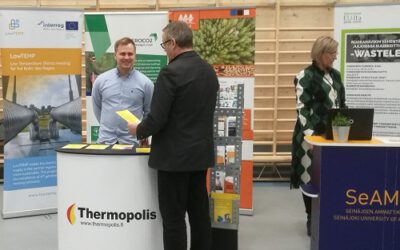 "LowTEMP was part of ""EU in South Ostrobothnia"" event (Finland)"